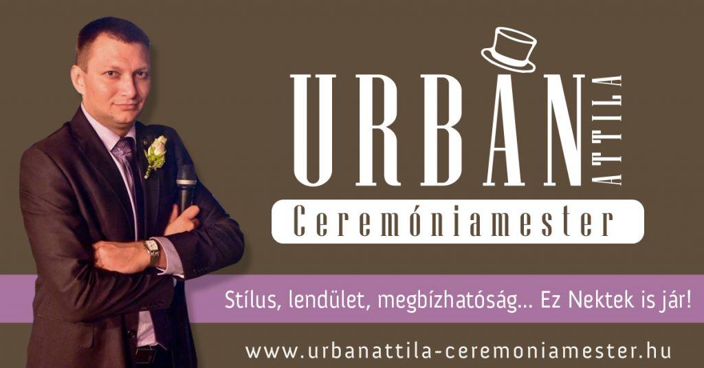 Ceremóniamester Kecskemét Urbán Attila